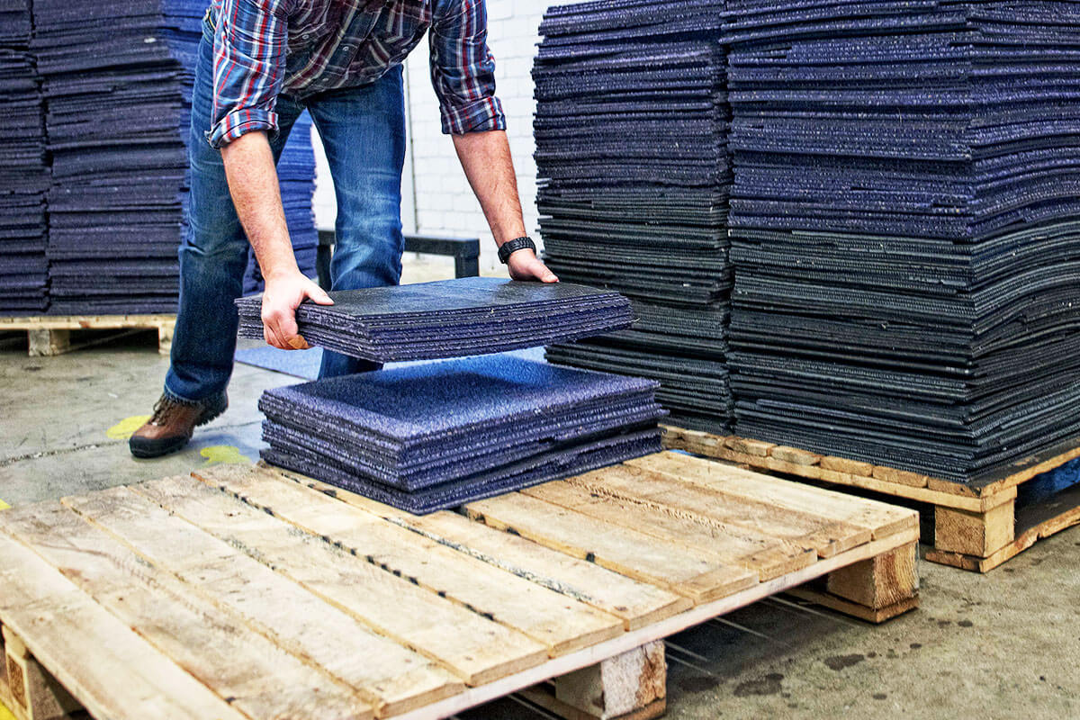 Paragon & Petty France - Carpet Tiles Diverted From Landfill