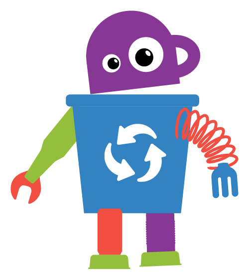 Waste Wise Kids Rubbish Robot Jeff