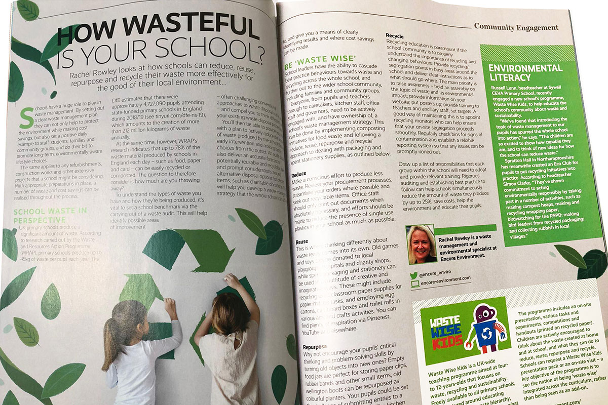 Encore's article in Primary School Magazine