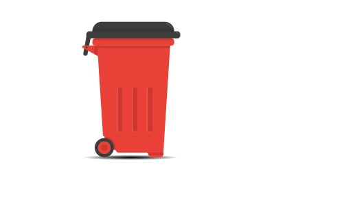 Wheelie Bin 240/360 litres