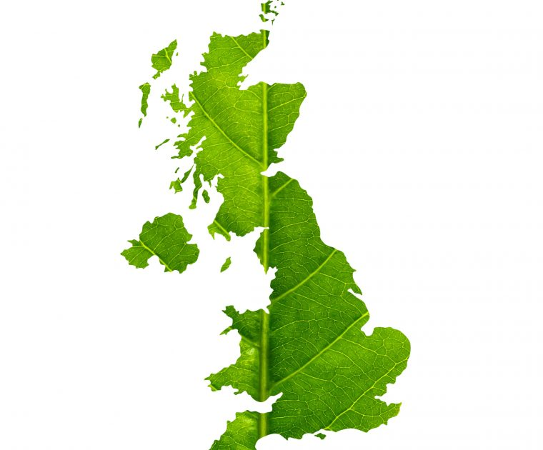 green industrial revolution map UK