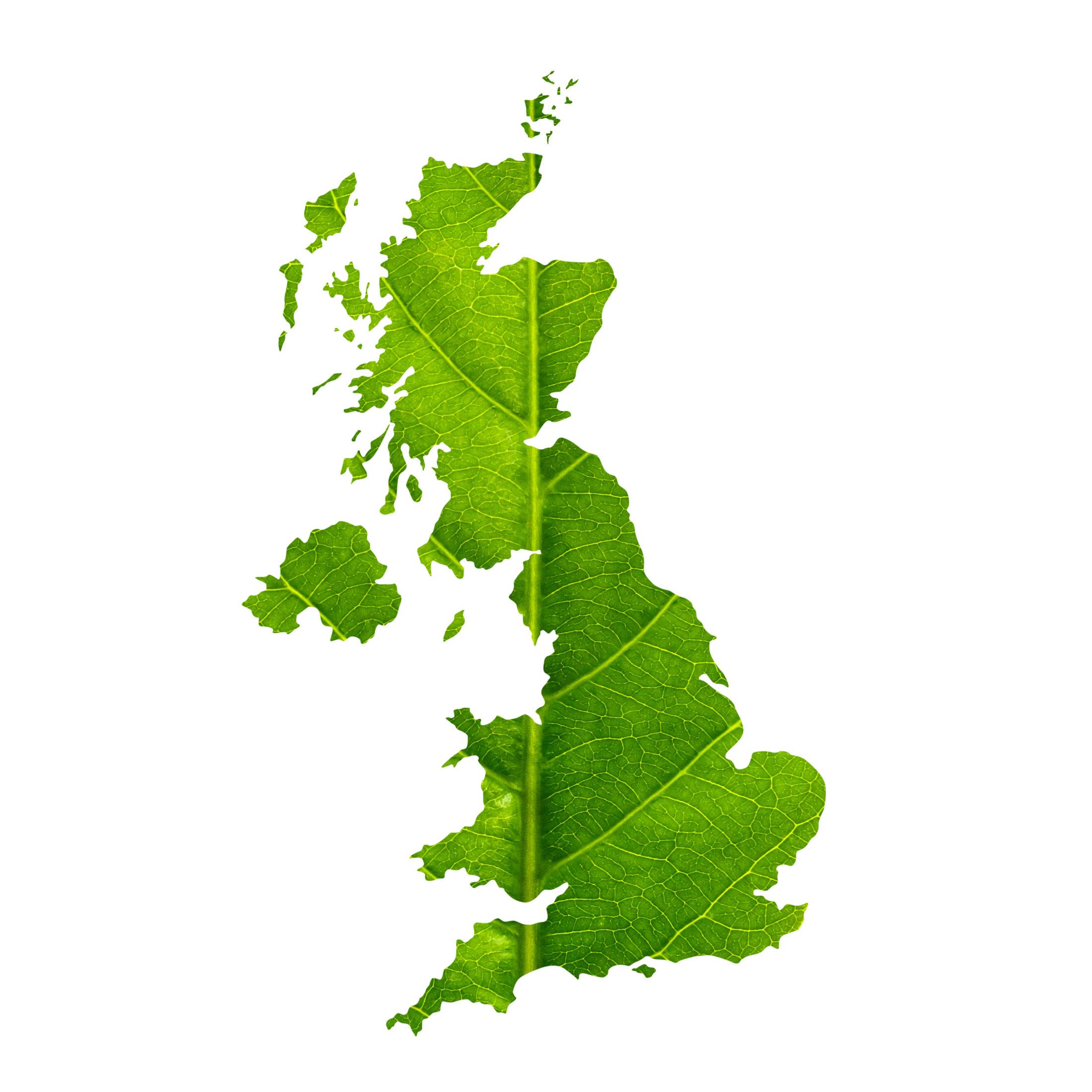 green industrial revolution map UK